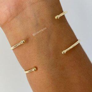 Bracelete Placa Artsy Pérola Barroca