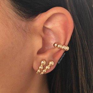 Piercing 4 Bolinhas Dourado