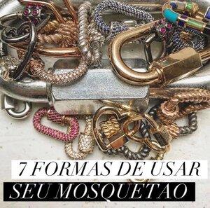 7 FORMAS DE USAR SEU MOSQUETÃO