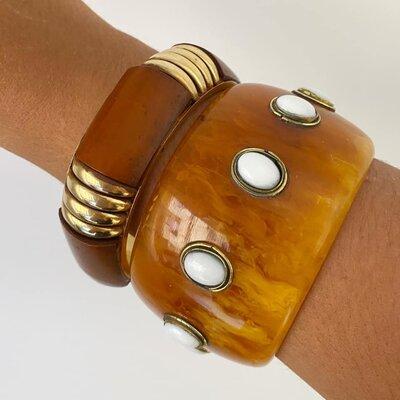 Bracelete Tartaruga com Marfim
