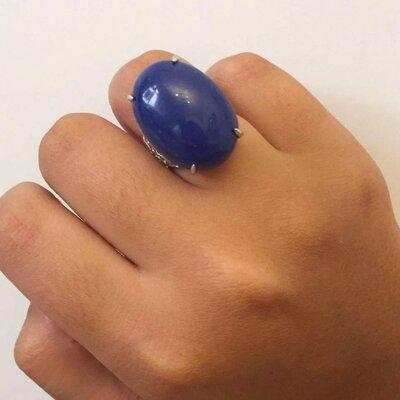 Anel Lapis-Lazuli