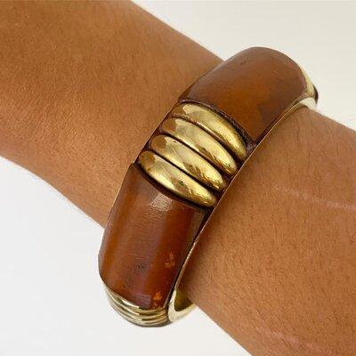 Bracelete Marrom