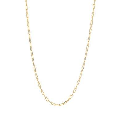 Colar Corrente Cartier Delicada 60 cm Ouro