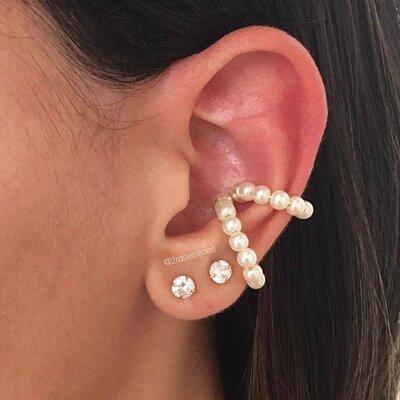 Piercing Pérolas M - Earhook