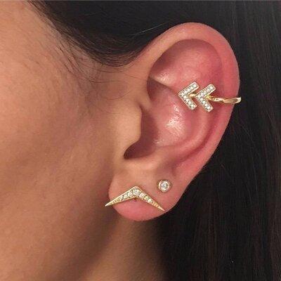 Piercing Seta Dourado