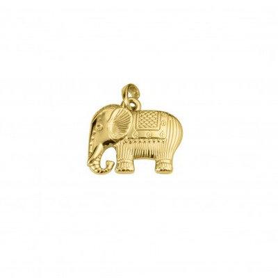 Pingente Elefante Dourado