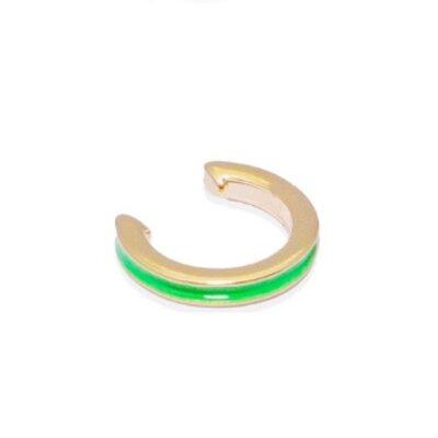 Piercing Esmaltado Verde Neon