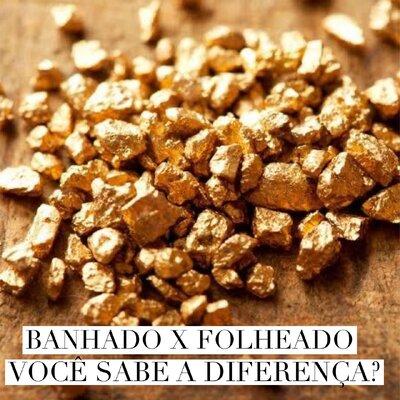 BANHADO X FOLHEADO: VOCÊ SABE A DIFERENÇA?