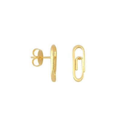 Brinco Mini Clips Ouro