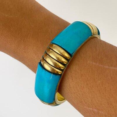 Bracelete Azul Turquesa