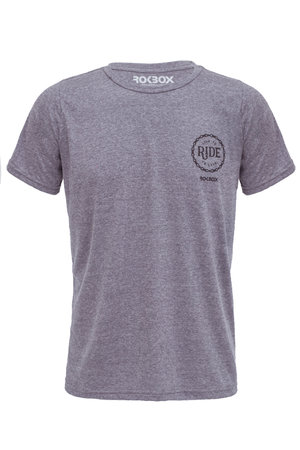 T-Shirt Eco Ride Cinza
