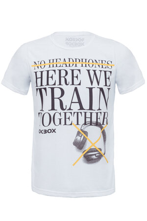 T-Shirt No Headphone Branca