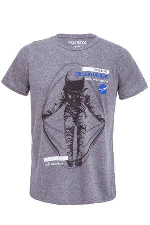 T-Shirt ECO Astronauta Cinza