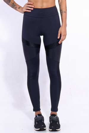 Legging Recortes Blackout