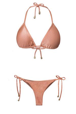Bikini Cortininha Nude