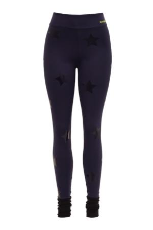 Legging Lunar Estrela Azul