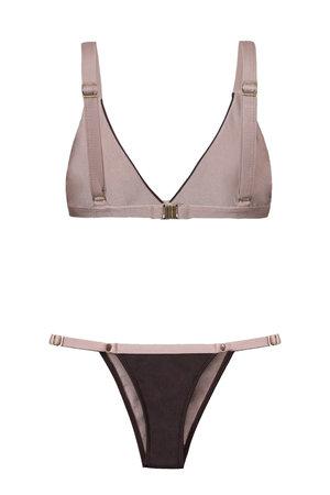 Bikini Top Brown