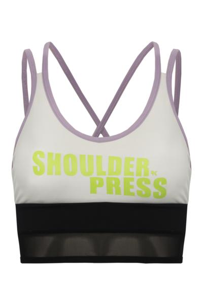 Top Shoulder Press White