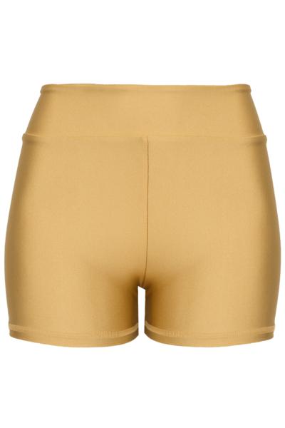 Shorts Dupla Face Dourado