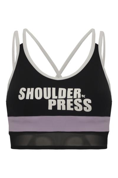 Top Shoulder Press Black