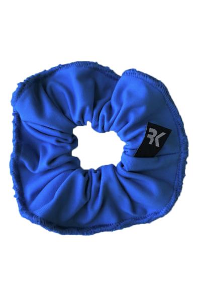 Scrunchie Azul Hero