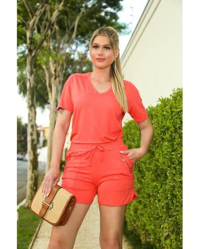 Conjunto Eliana Moletinho C/Shorts