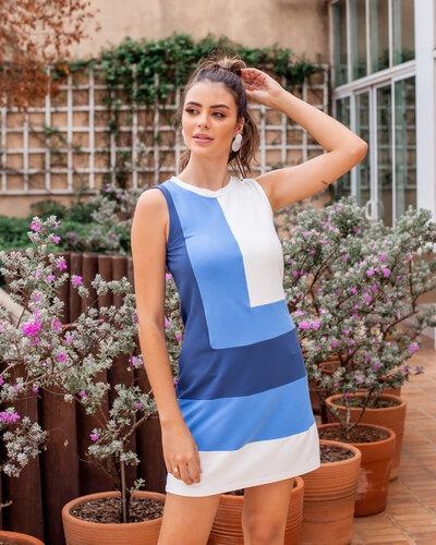 Vestido Sônia regata 3 cores