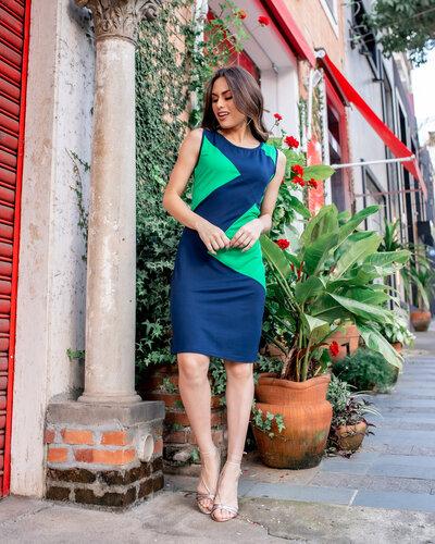 Vestido Ximena curto nadiga