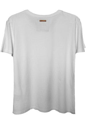 Camiseta branca Dark