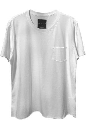 Camiseta pocket branca Enjoy