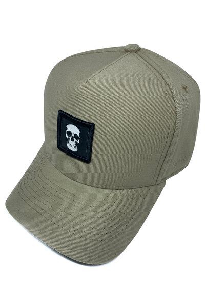Boné Trucker Skull (Areia)