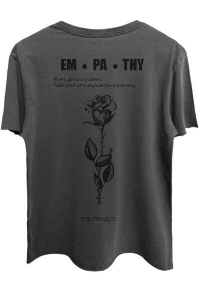 Camiseta estonada chumbo Empath