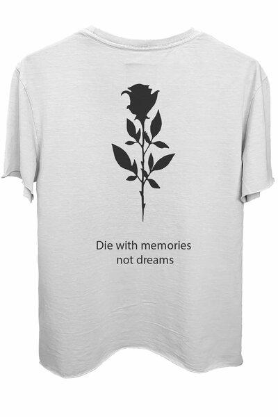 Camiseta branca Memories