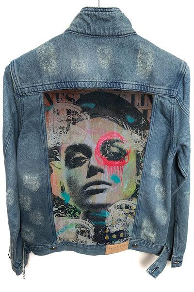 Jaqueta Jeans Destroyed Tradicional Masculina Outdoor