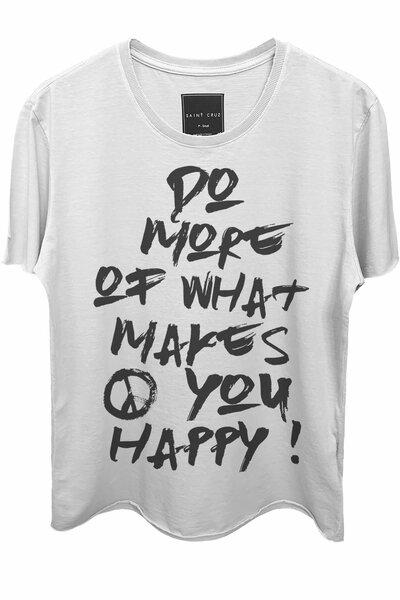 Camiseta branca Do More (Front)
