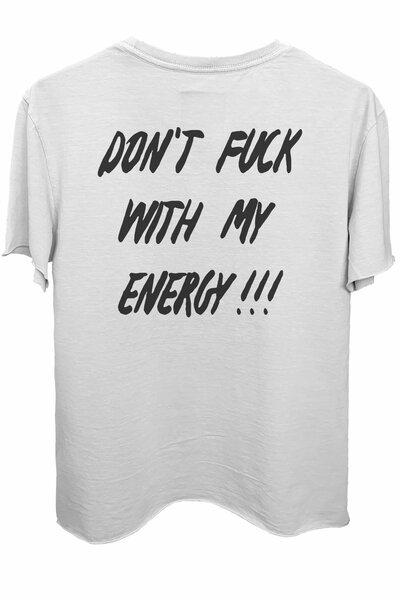 Camiseta branca Energy