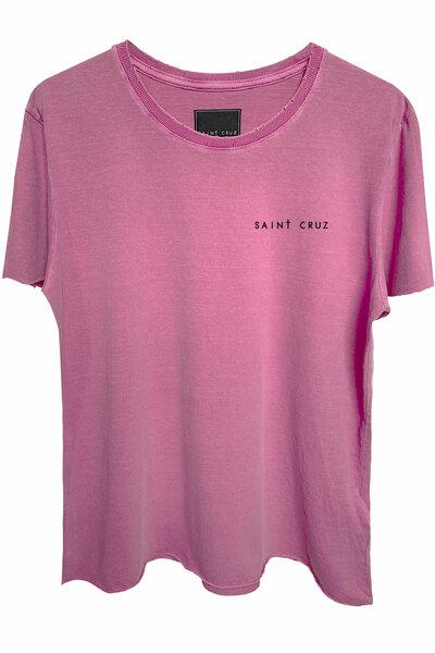Camiseta estonada vinho Enjoy
