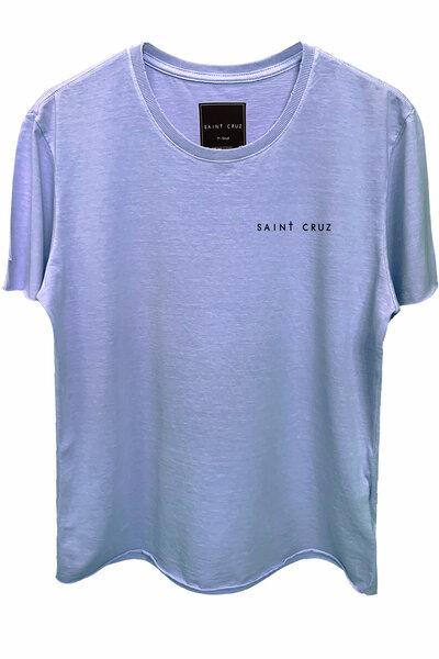 Camiseta estonada lilás On My Way (Back)