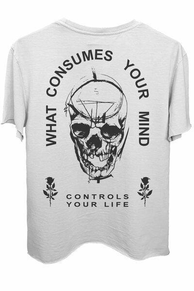 Camiseta branca Controls