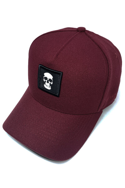 Boné Snapback Skull (Vinho)