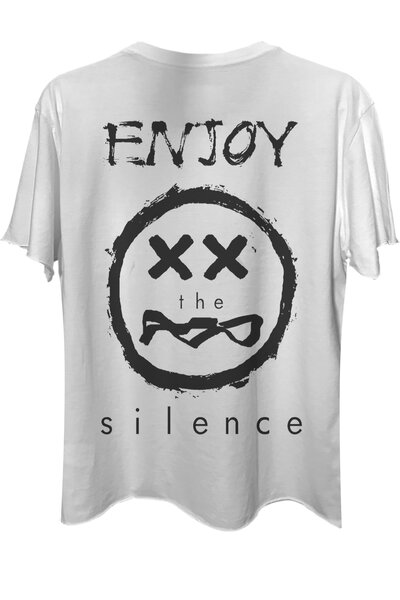 Camiseta com bolso branca Enjoy