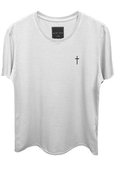 Camiseta branca Cross