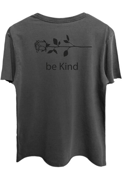 Camiseta estonada chumbo Be Kind