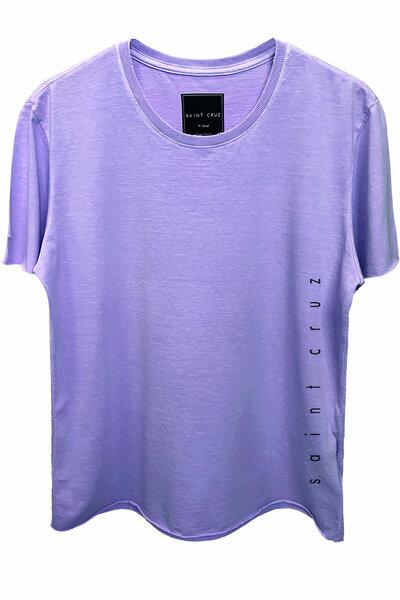 Camiseta estonada lilás Vert