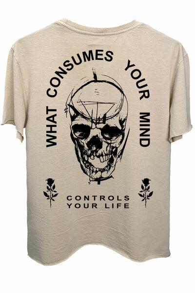 Camiseta estonada areia Controls