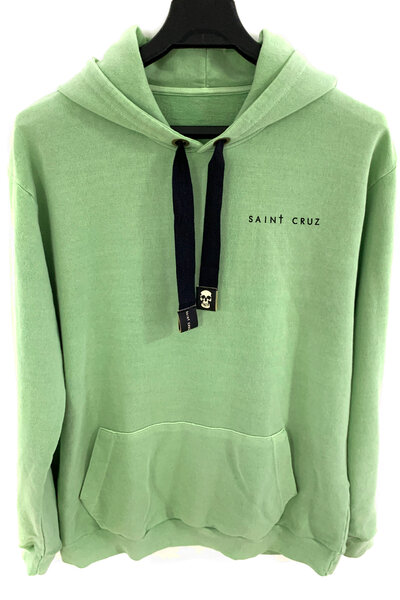Blusa de moletom estonado verde Stripes