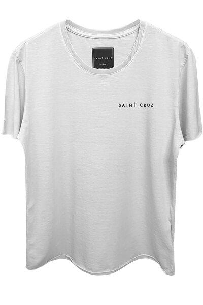 Camiseta branca Stripes
