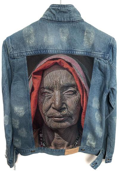 Jaqueta Jeans Destroyed Tradicional Masculina Old