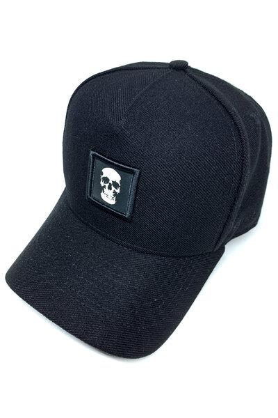 Boné Snapback Skull (Preto)