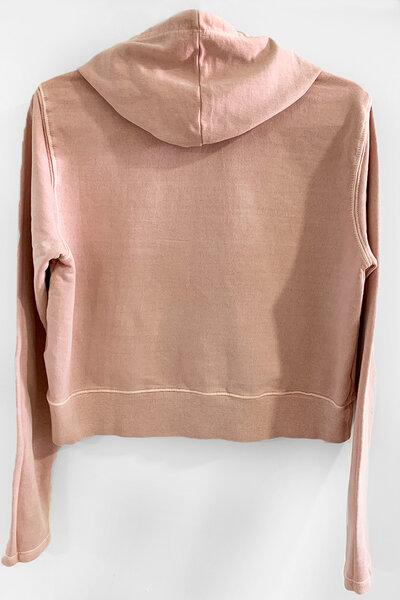 Blusa de moletom estonado rose Feminino Dreams (Front)